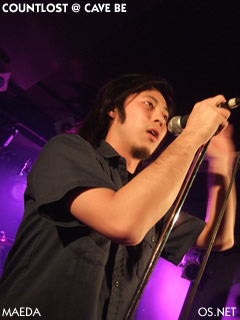 2007/003/22 COUNTLOST@Cave be 前田(vo)