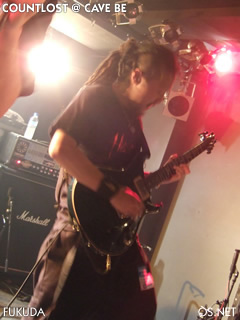 2007/003/22 COUNTLOST@Cave be 福田(gt)
