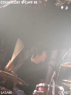 2007/003/22 COUNTLOST@Cave be 佐々木(dr)