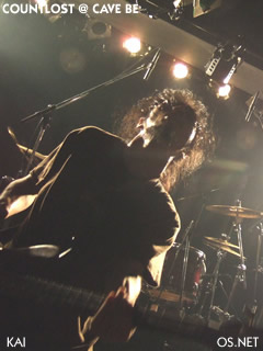 2007/003/22 COUNTLOST@Cave be 甲斐(bass)